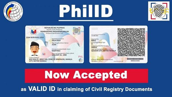 """PhilID """"Now Accepted"""""""